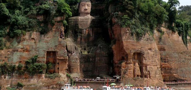 Giant Buddha of Leshan, Sichuan Province