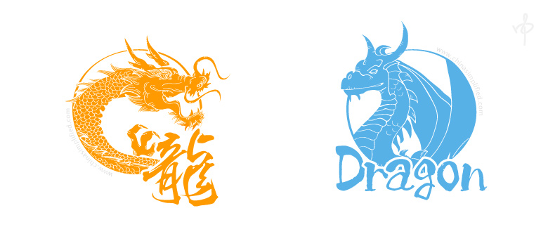 China Simplified: Dragons
