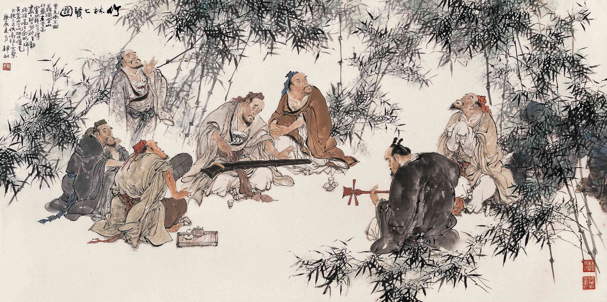 Meet the Hippies of China: The Seven Bamboo Sages